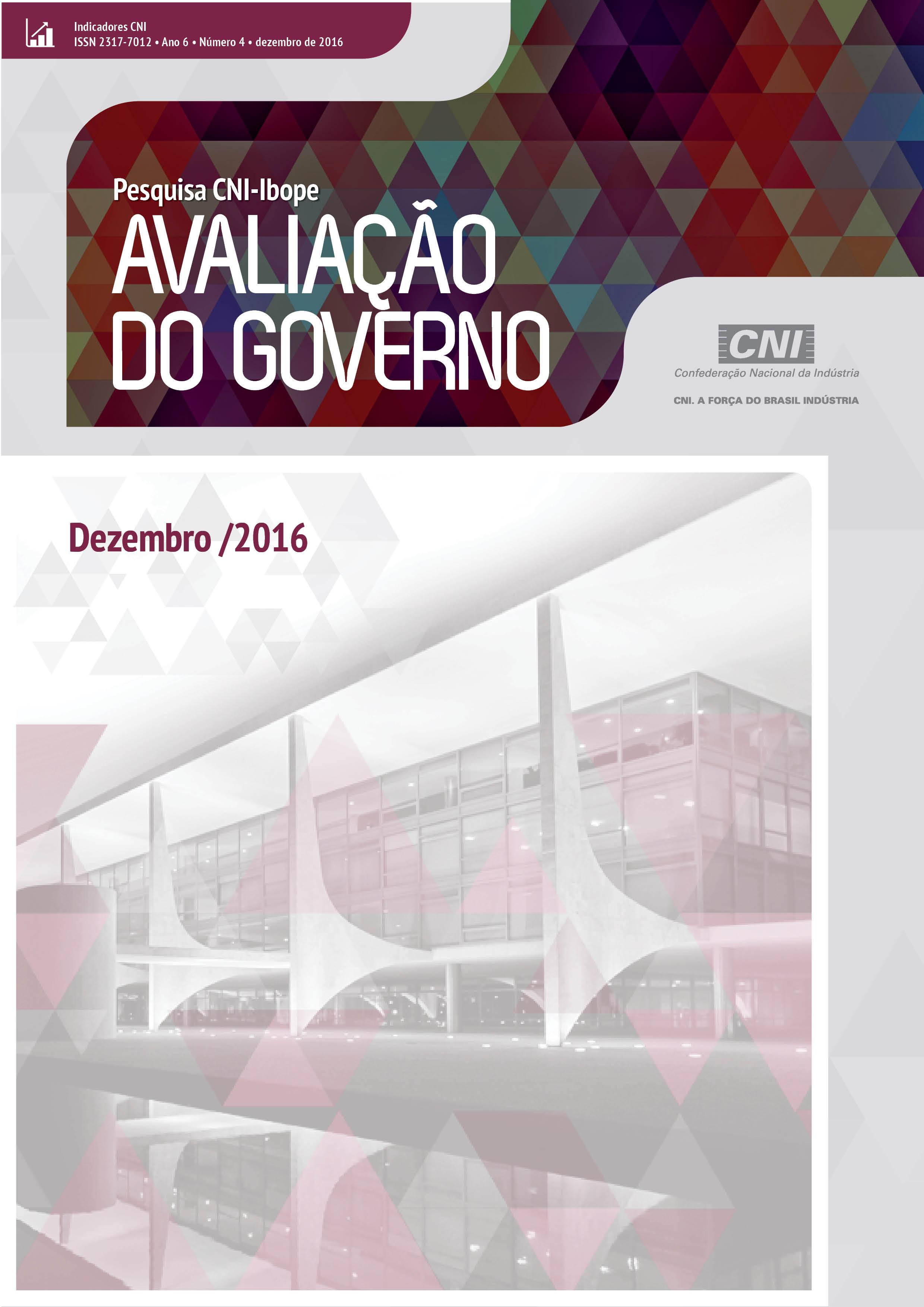 Pesquisa CNI-IBOPE ::: Avaliação do Governo