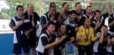 Equipe da Volvo, do Paran�, � ouro no futebol sete m�ster