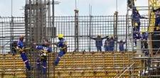 Caem os n�veis de atividade e de emprego na ind�stria da constru��o