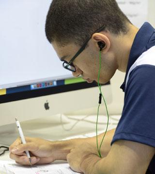 Estudante do SENAI na WorldSkills São Paulo 2015