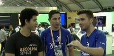 VÍDEO: Alunos da educação profissional contam como é competir na Olimpíada do Conhecimento