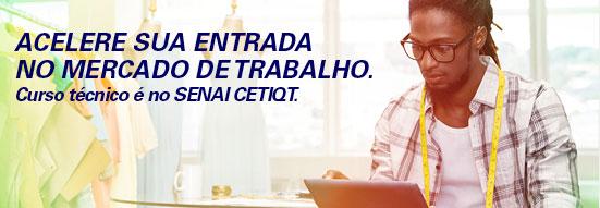 banner SENAI CETIQT