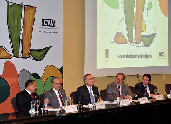 Lançamento da Agenda Legislativa da Indústria 2015. Foto: José Paulo Lacerda